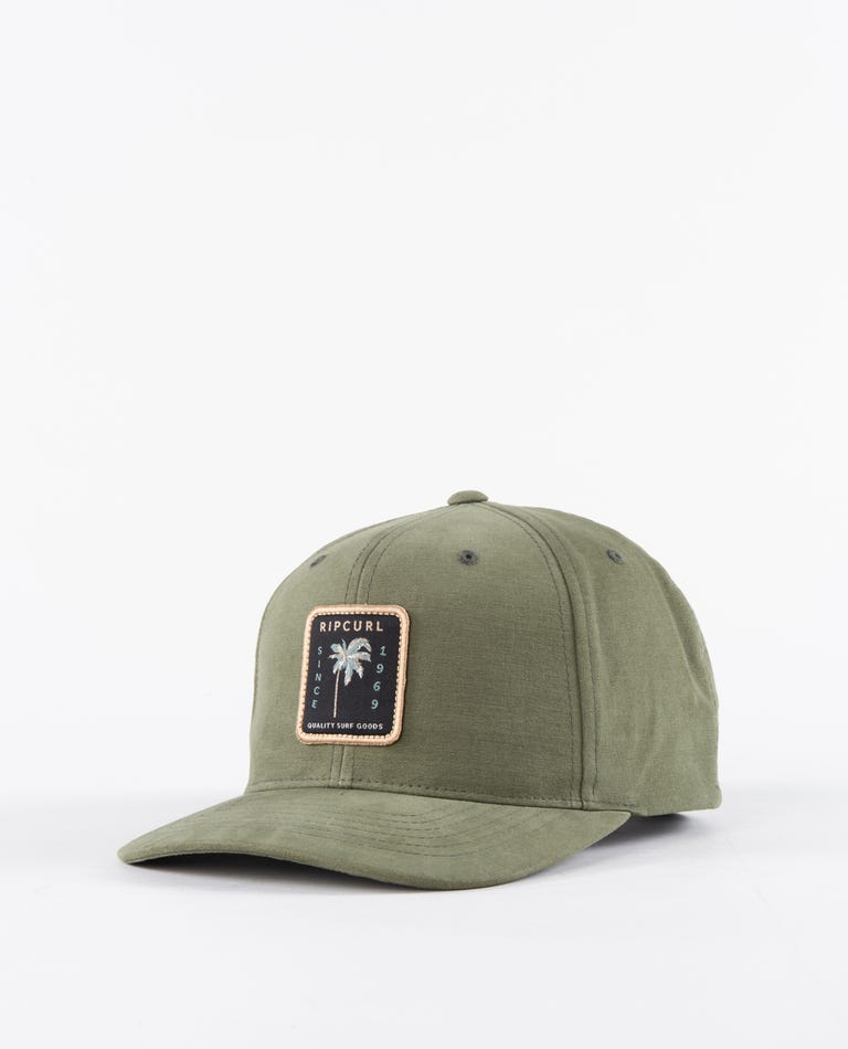 Custom Snapback in Dark Olive