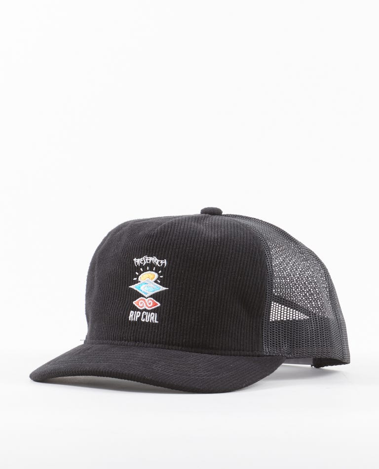 Search Logo Trucker in Black
