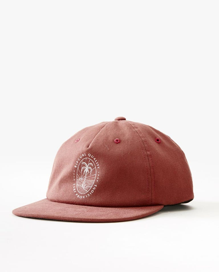 Lowers Flexfit Adjust Cap in Washed Red