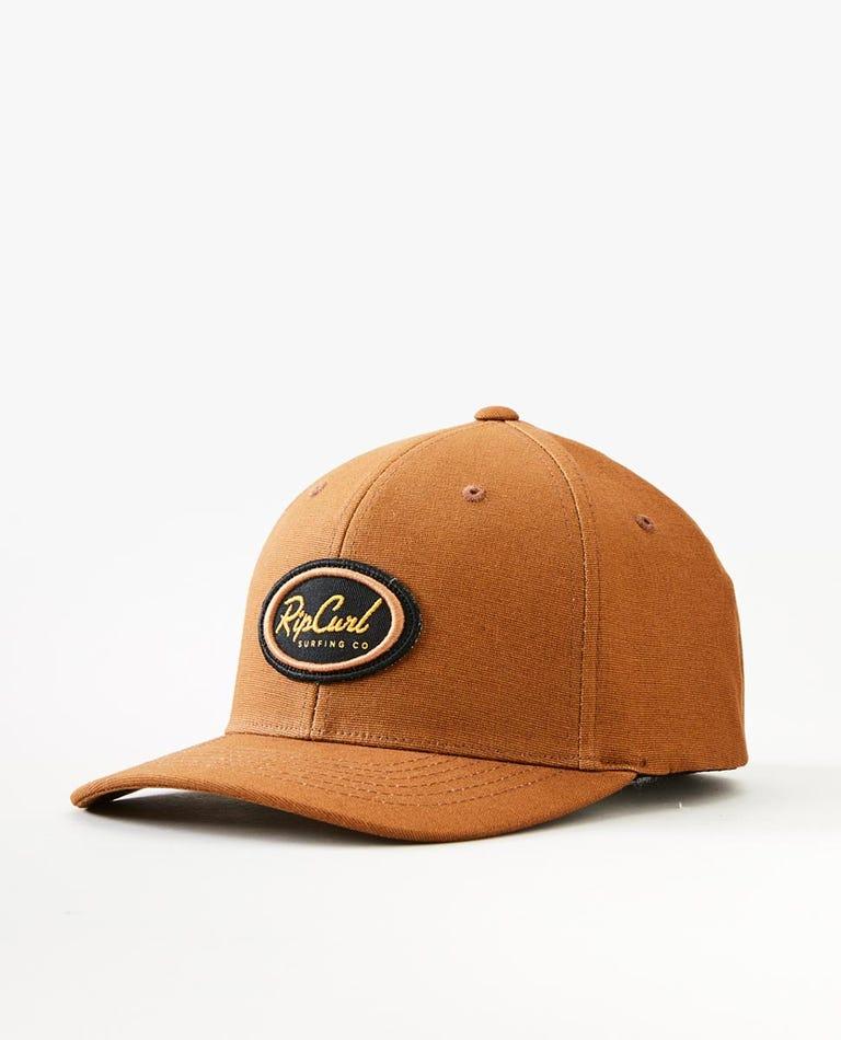 Decal Flexfit Cap in Almond