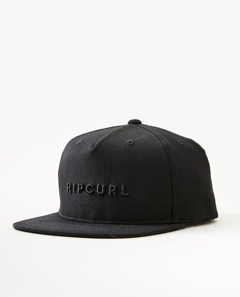 Valley Flexfit Cap in Black