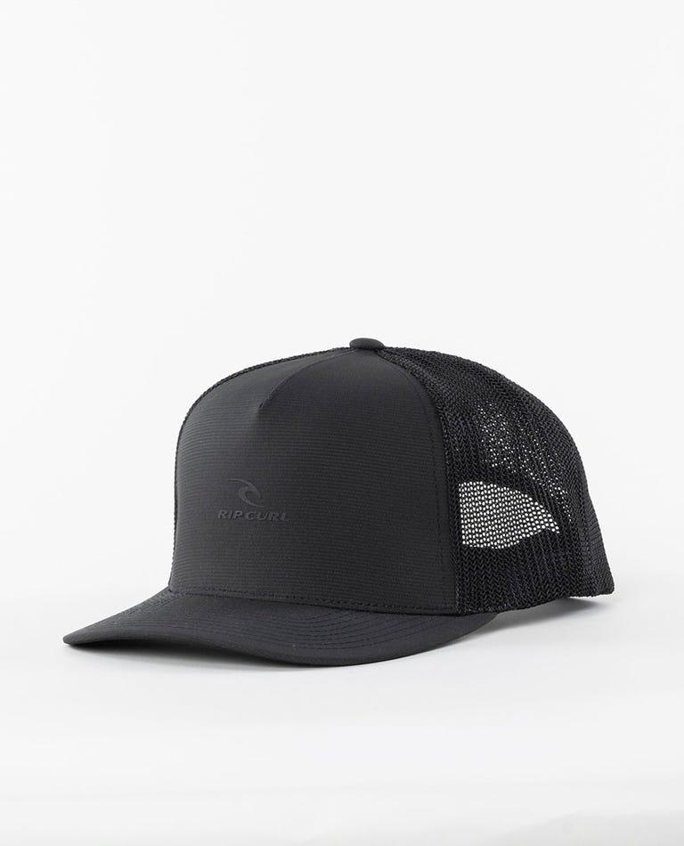 VaporCool Flexfit Trucker Hat in Black/Grey