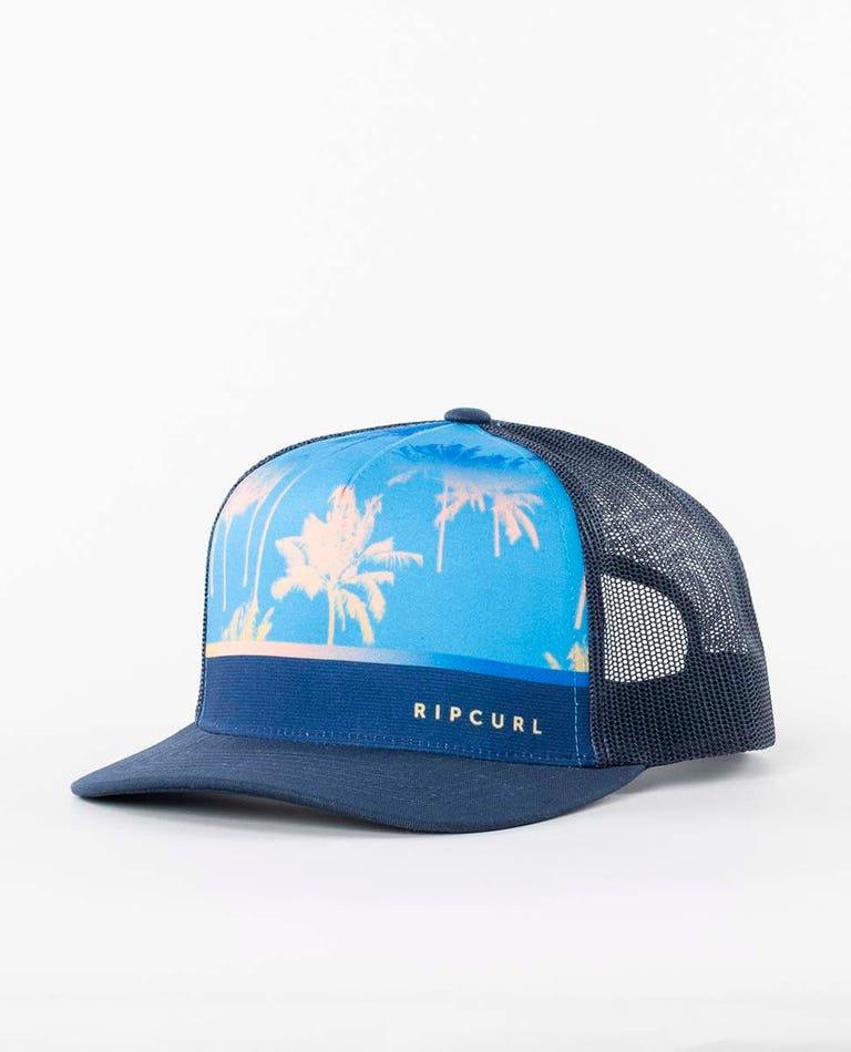 Backyards Trucker Hat in Navy