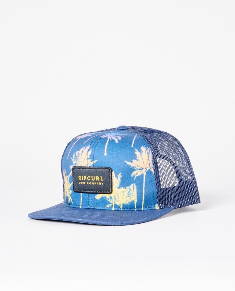 Combo Trucker Hat in Navy