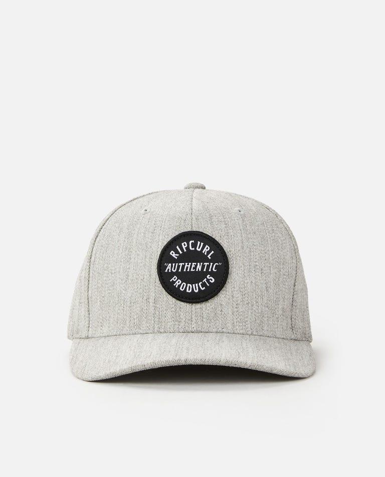 Wetty Snapback Cap in Grey Marle