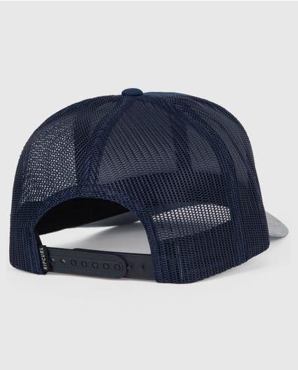 Rapture Trucker Hat in Black