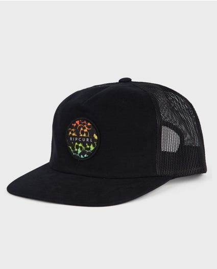 Mason Haze Trucker Hat in Black