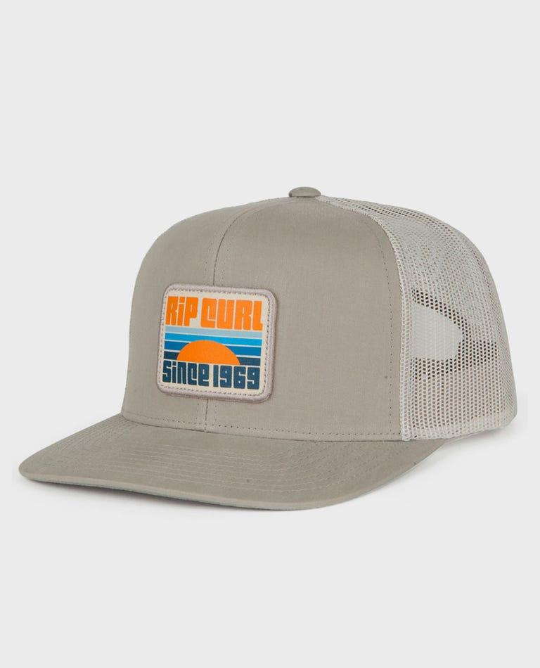 Panorama Trucker Hat in Grey
