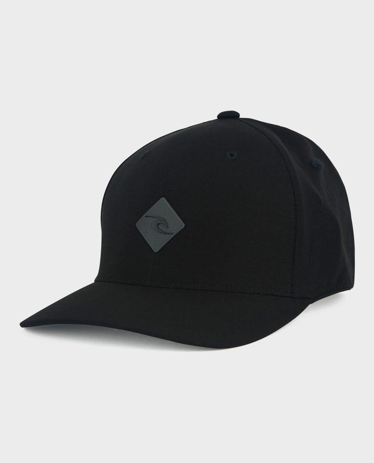 Stealth Tech Hat in Black