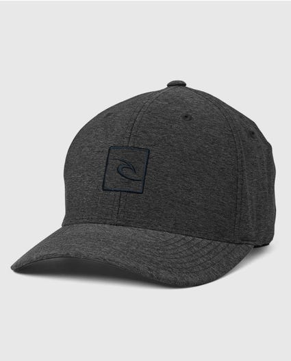 Icon Voyager Flexfit Hat in Charcoal/Grey