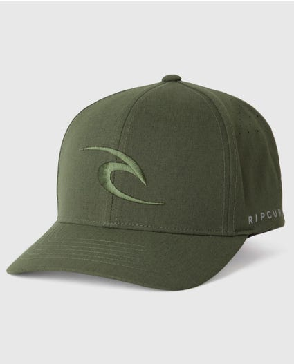 Phase Icon Curve Peak Cap in Navy