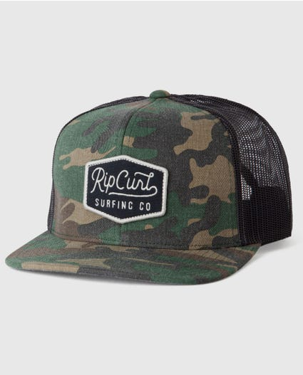 Station Trucker Hat in Camo