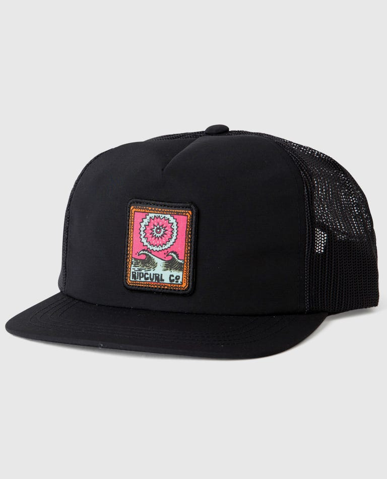 Dreaming Trucker Hat in Black