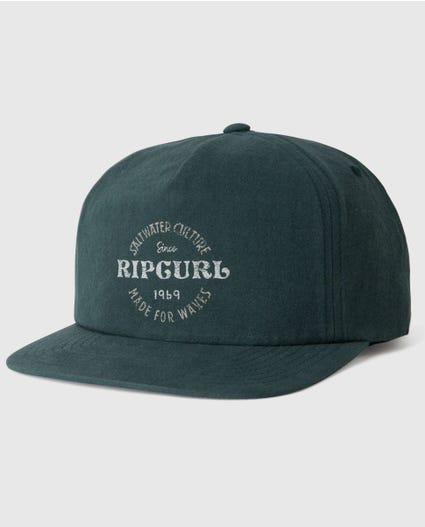 Perfecto Snapback in Forest Green