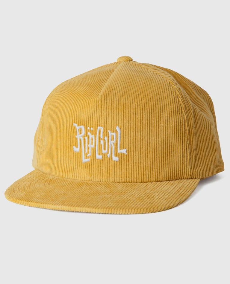 Soleil Snapback in Gold