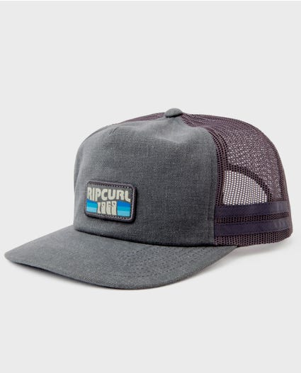 Sideline Trucker Hat in Charcoal