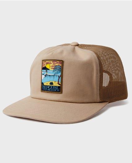 Sir Shred Trucker Hat in Black