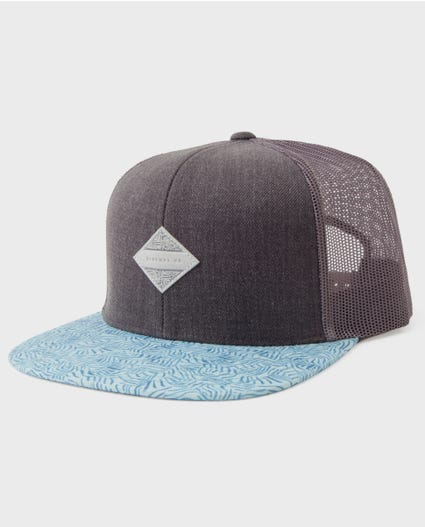 Windward Trucker Hat in Grey