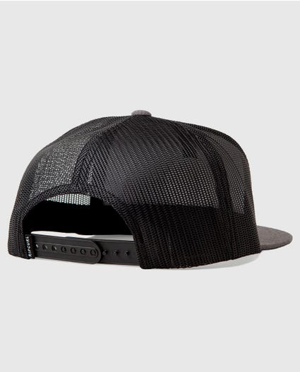 Dole Trucker Hat in Charcoal