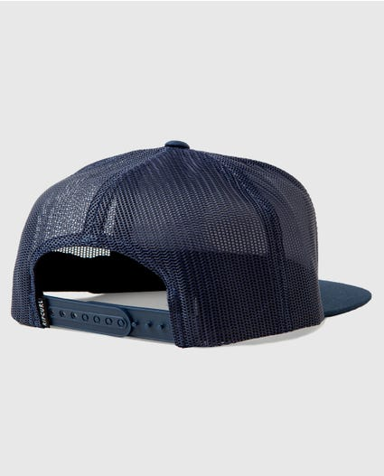 Shaka Trucker Hat in Navy