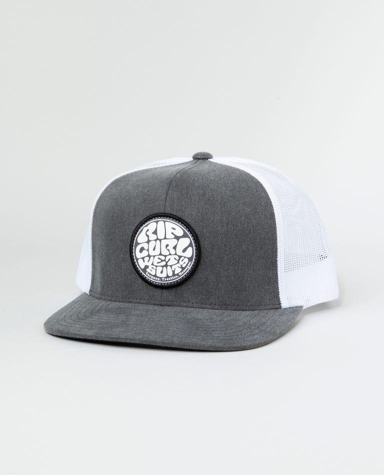 Wettie Trucker Hat in Black