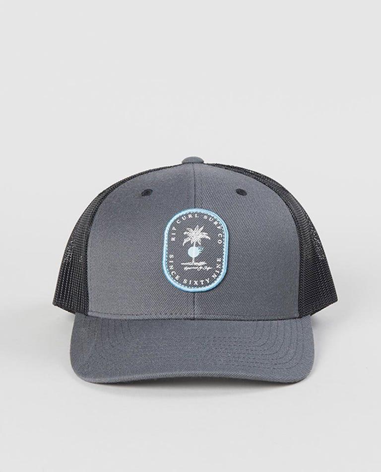 Black Hole Trucker Cap in Blue