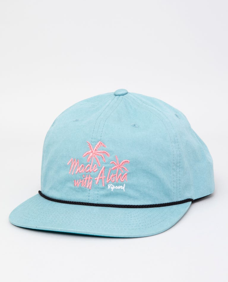 Hencho Snapback in Aqua