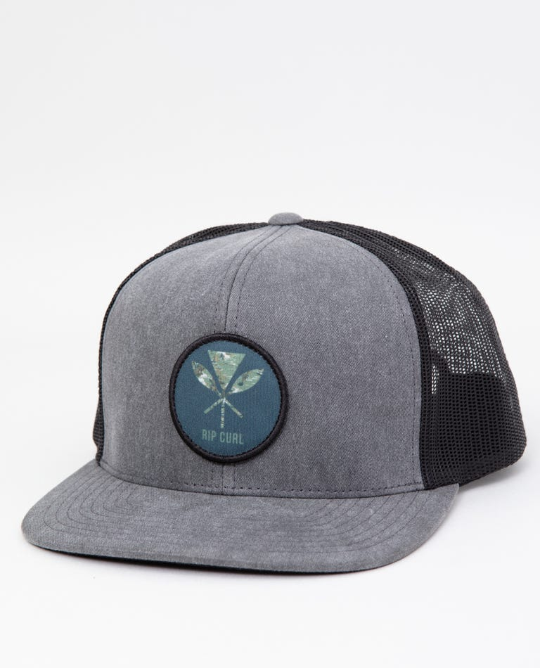 Made With Aloha Trucker in Black