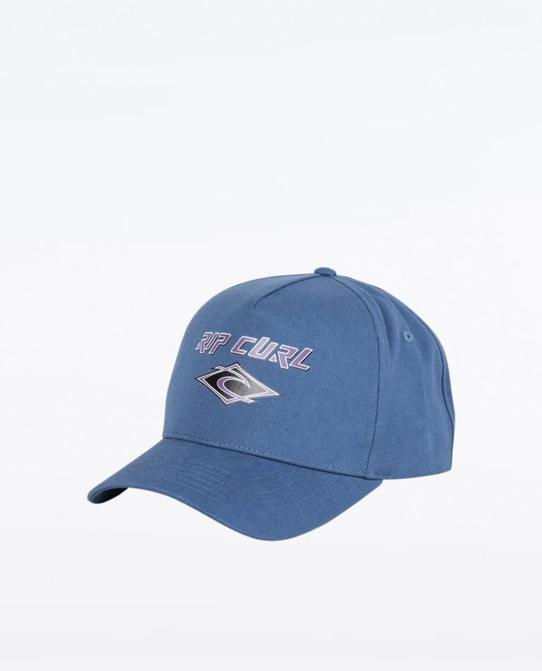 Fadeout Snapback Cap in Navy