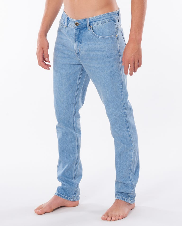 Slim Salt Blue Pants in Salt Blue