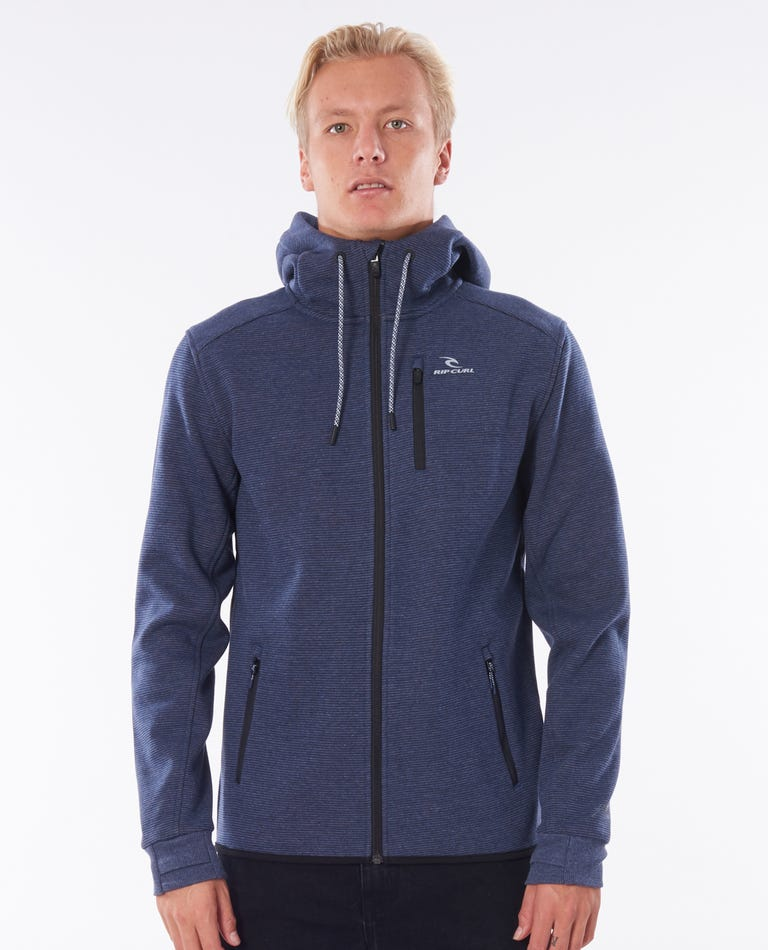 Departed Anti Series Fleece in Navy