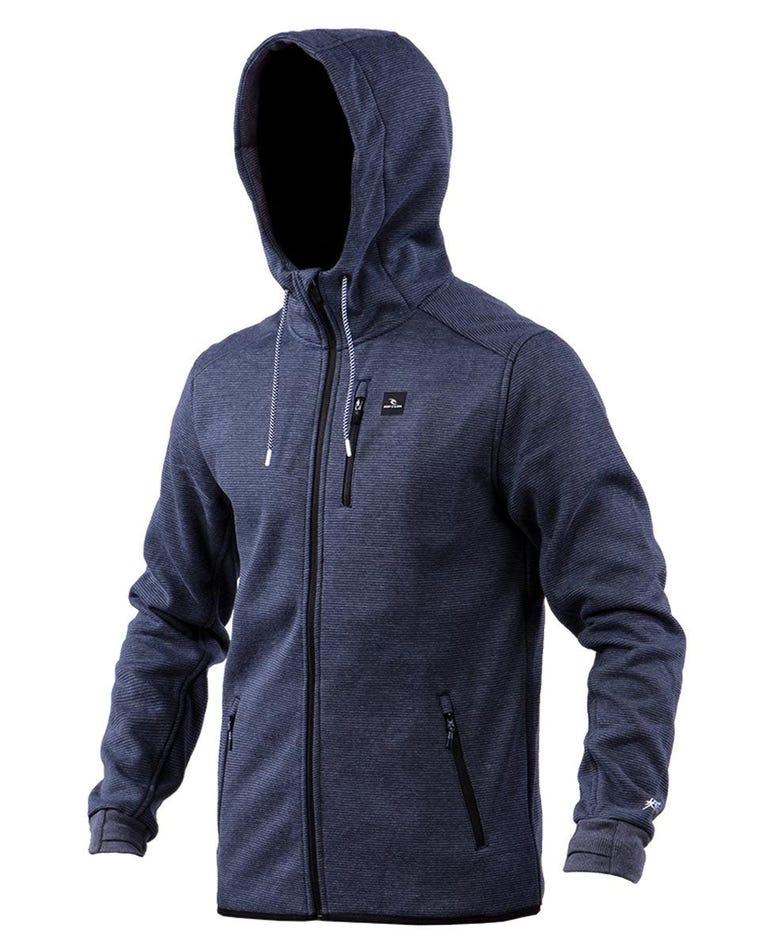 Departed Anti Series Fleece in Navy