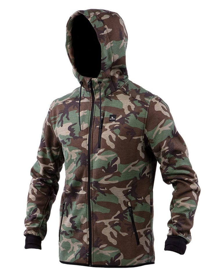 Departed Anti Series Fleece in Camo