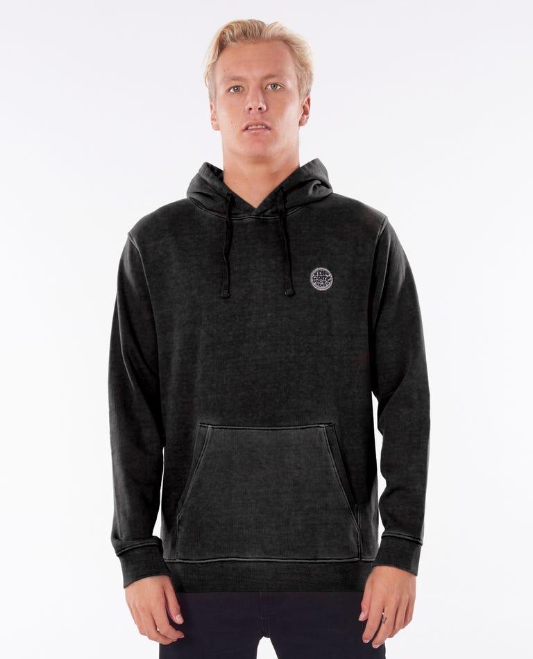 Original Surfers Hood in Washed Black