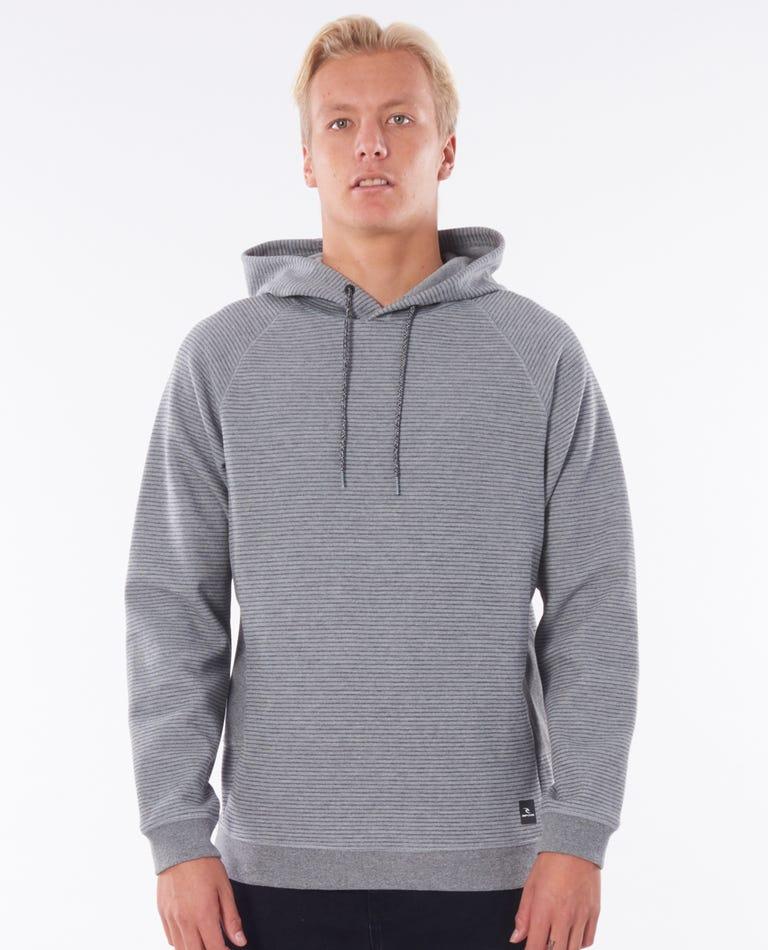 Vapor Cool Hood in Grey Marle
