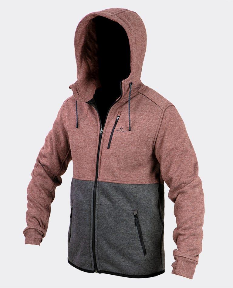 Departed Anti Series Fleece in Brown
