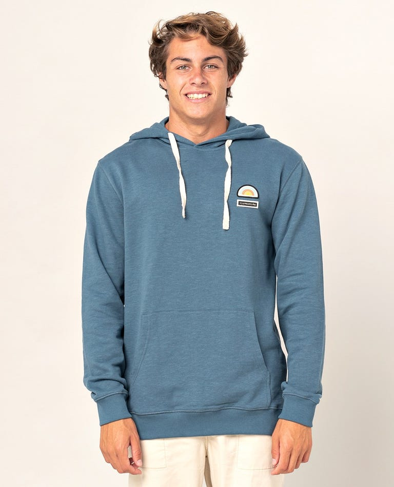 Saltwater Culture Hood in Washed Navy