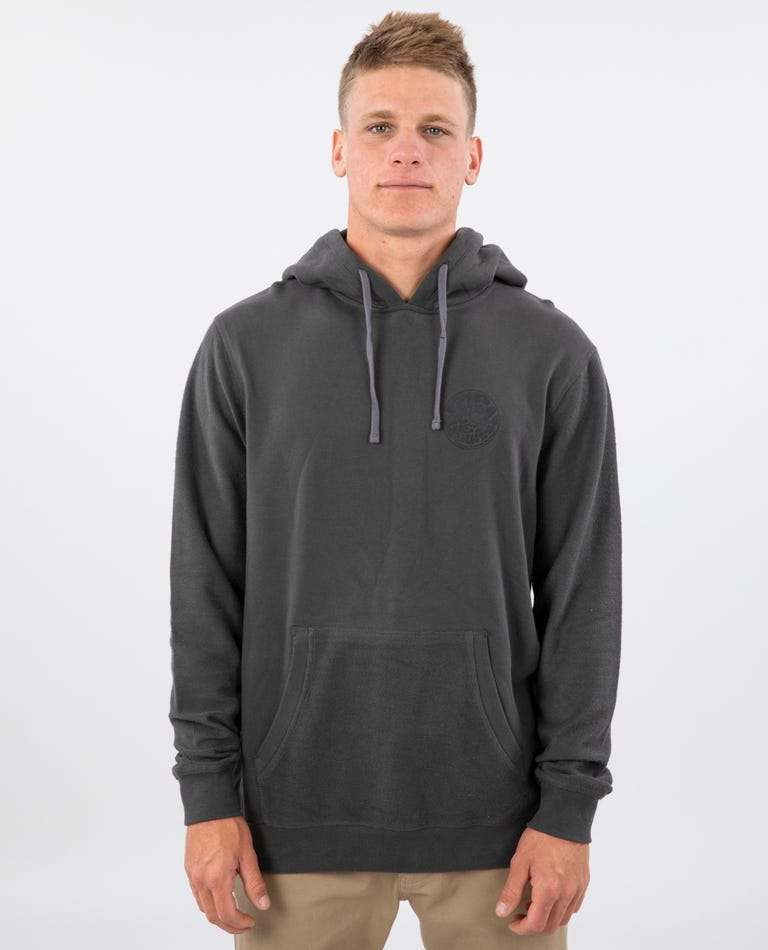 Wetty Pullover Hood  in Charcoal