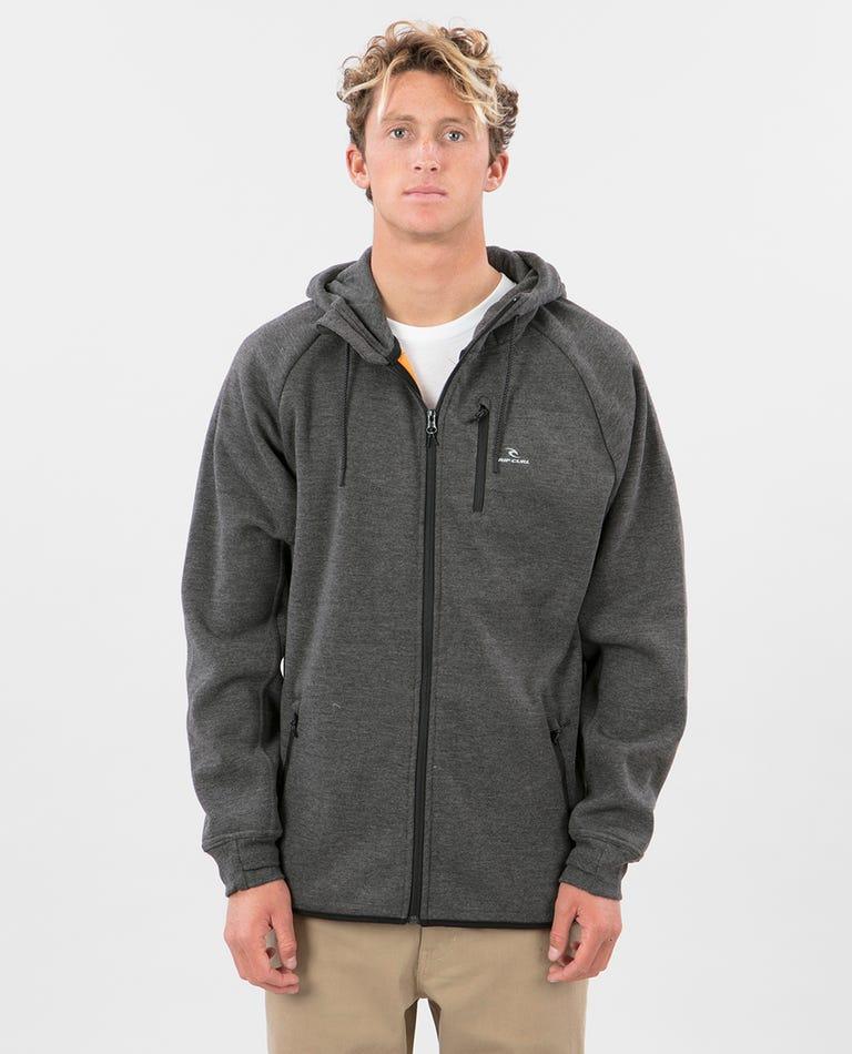 Departed Anti Series Fleece in Charcoal