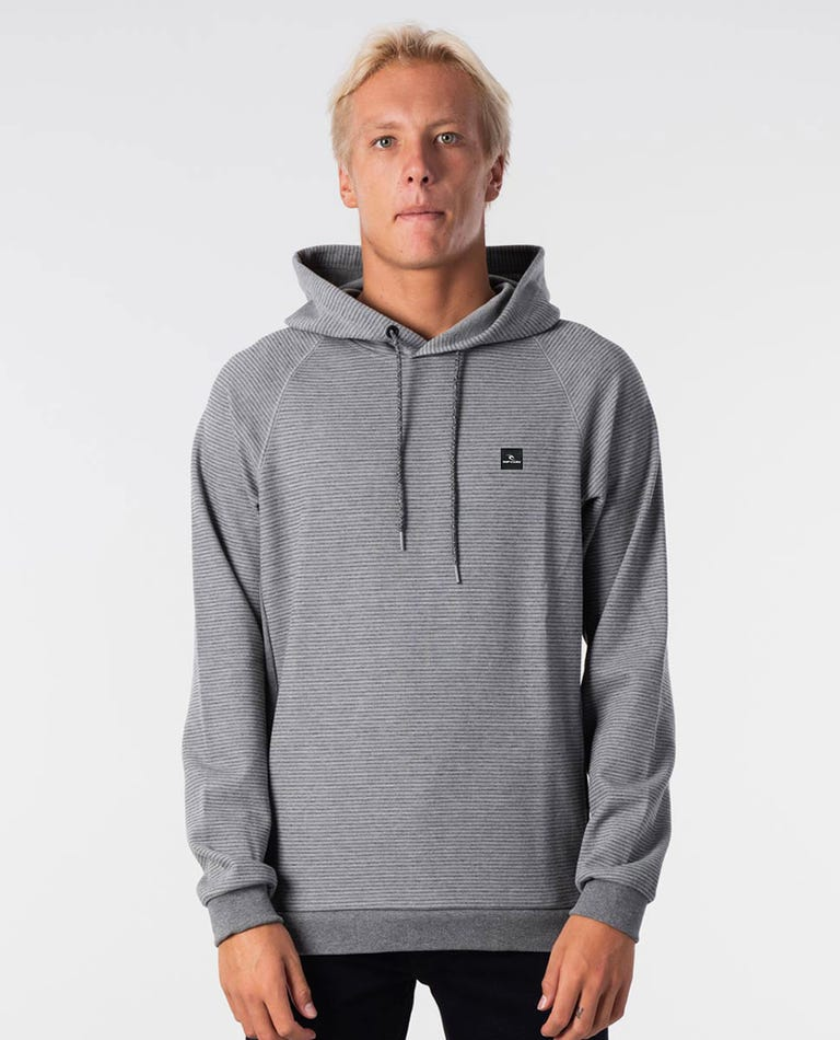 Charged Hooded Jumper in Grey Marle