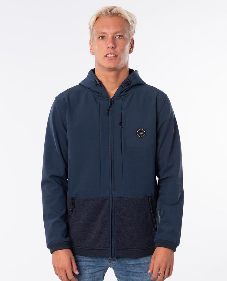 Akaw Anti Series Fleece Jacket in True Indigo