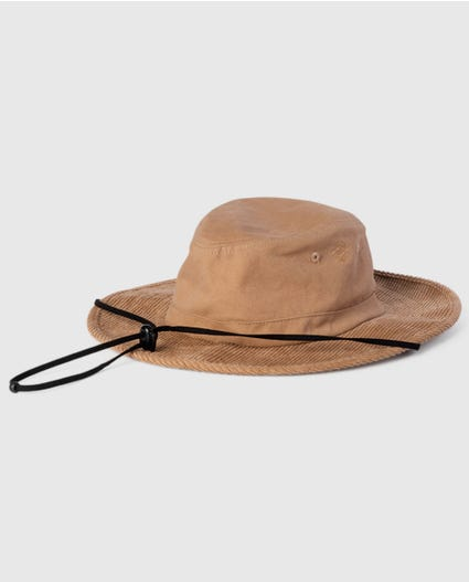 Search Wide Brim Hat in Khaki