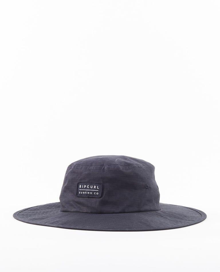 Valley Wide Brim Hat in Black