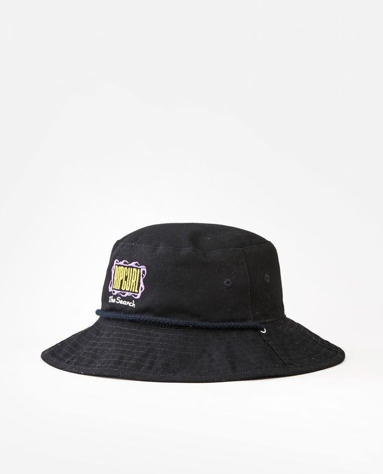 Revo Valley Mid Brim Hat in Black