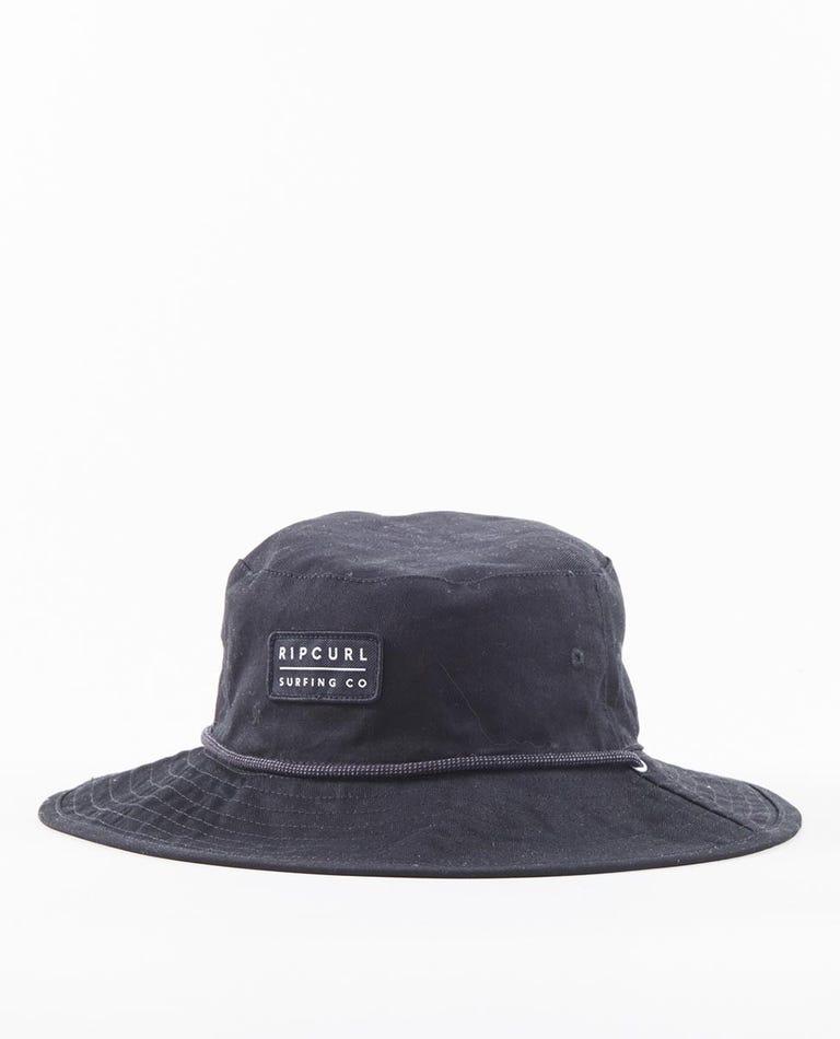 Revo Valley Mid Brim Hat in White