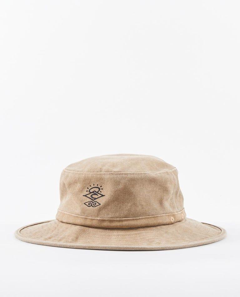 Searcher Mid Brim Hat in Khaki