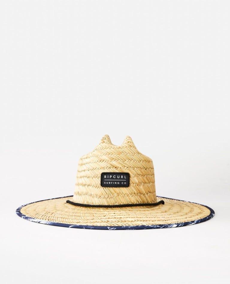 Mix Up Straw Hat in Navy