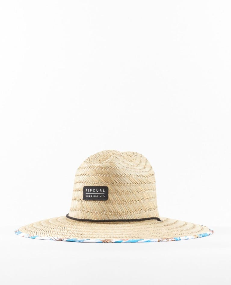 Mix Up Straw Hat in White