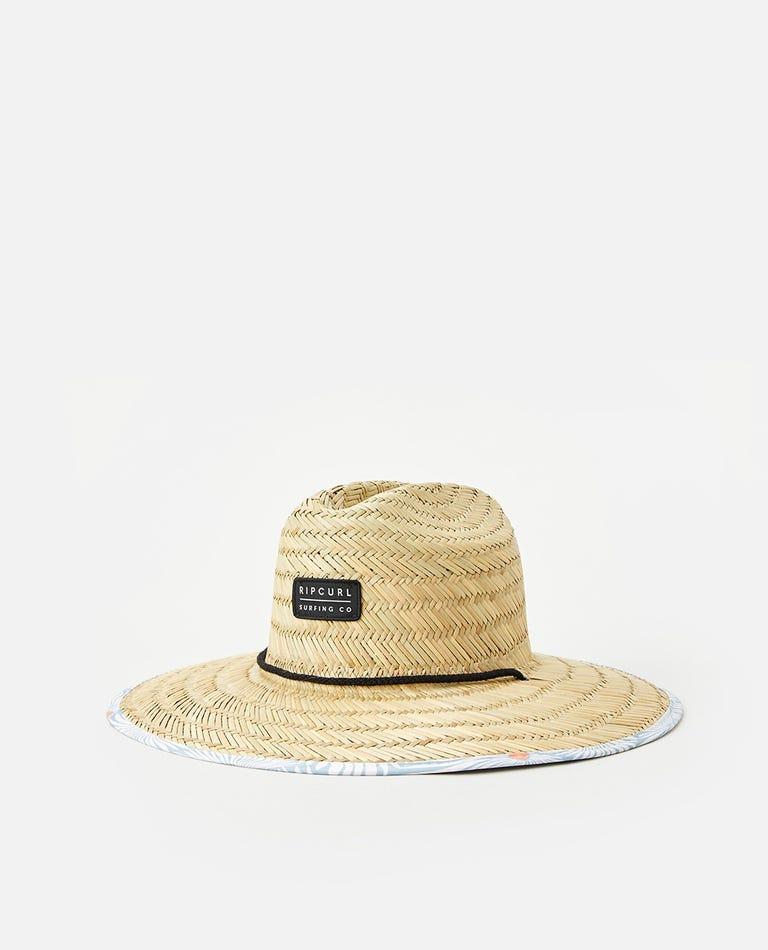 Mix Up Straw Hat in Bone
