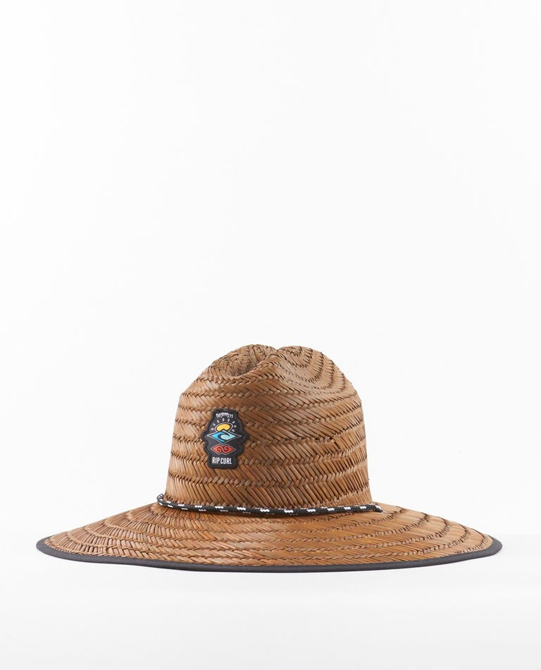 Icons Straw Hat in Brown